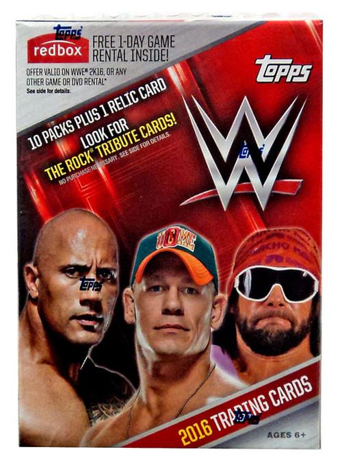 Topps WWE Wrestling WWE 2016 Trading Card Blaster Box