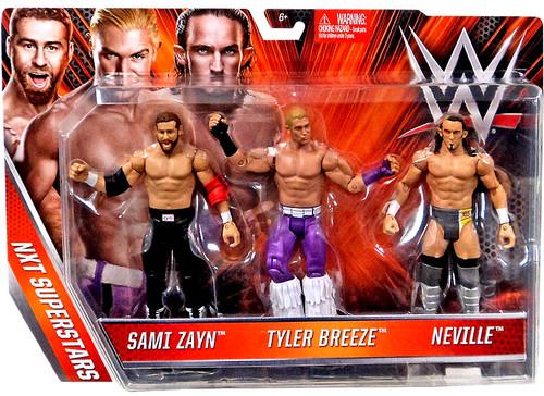 Mattel WWE Wrestling NXT Superstars Sami Zayn, Tyler Bree...