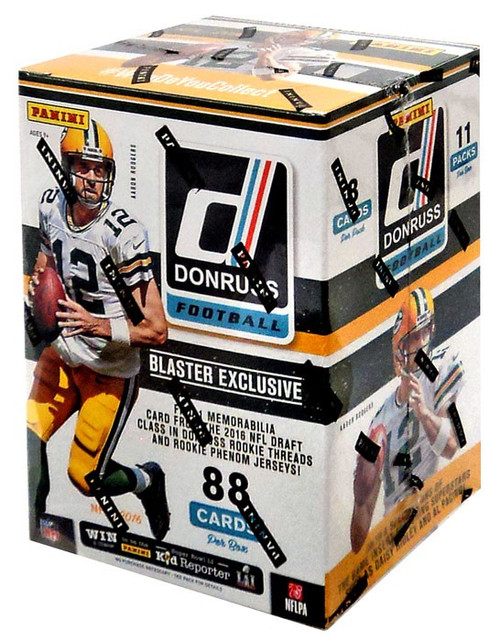 NFL 2016 Donruss Trading Card Blaster Box [11 Packs]