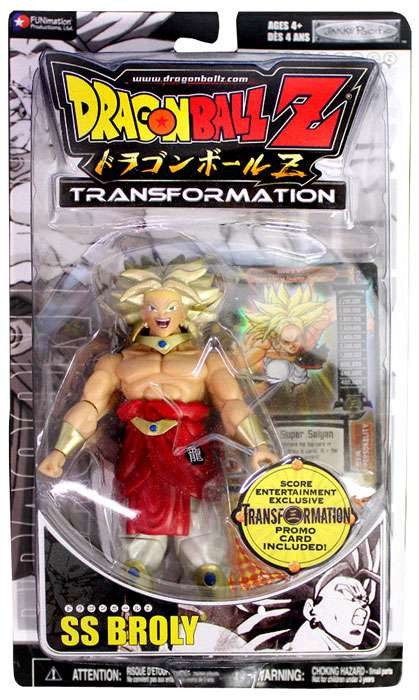 Dragon Ball Z Transformation SS Broly Exclusive Action Fi...
