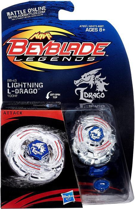 Hasbro Beyblade Legends Lightning L-Drago Starter Set BB-43