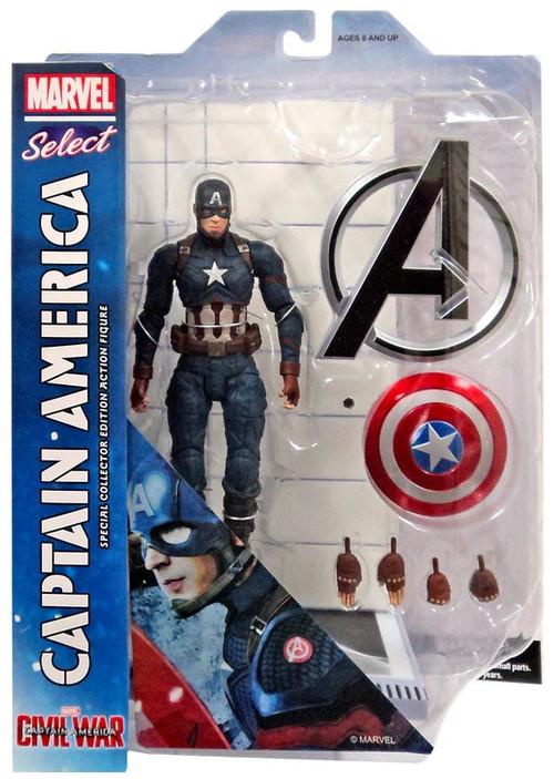 Captain America: Civil War Marvel Select Captain America ...