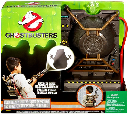 Mattel Ghostbusters 2016 Movie Proton Pack Projector