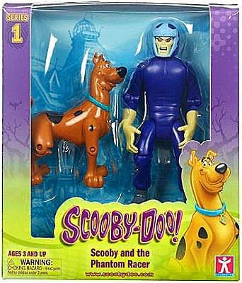 Scooby Doo Series 1 Scooby & Phantom Racer Action Figure ...