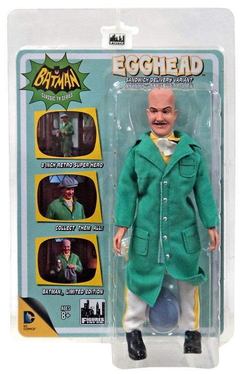 Batman 1966 TV Series Villain Variant Series Egghead Retr...