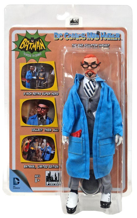 Batman 1966 TV Series Villain Variant Series Mad Hatter R...