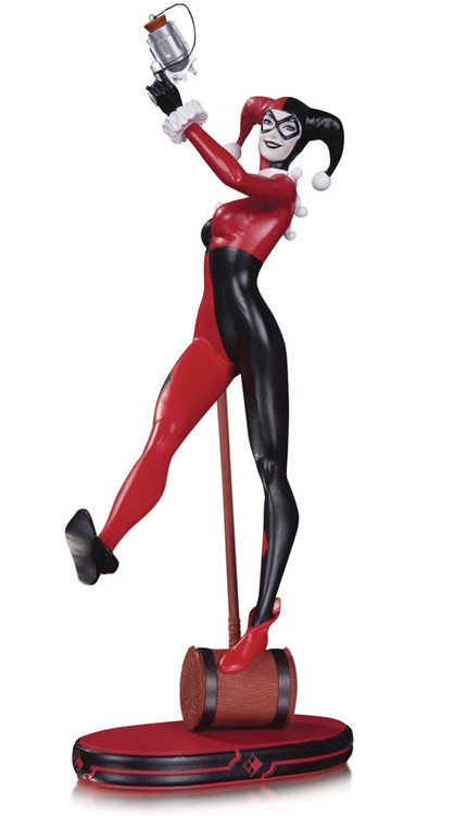 DC Cover Girls Classic Harley Quinn 8.5-Inch Statue [Vers...