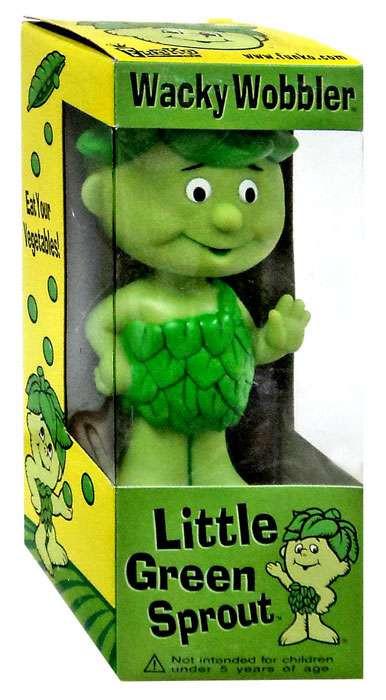 FUNKO INC. Green Giant Wacky Wobbler Little Green Sprout ...