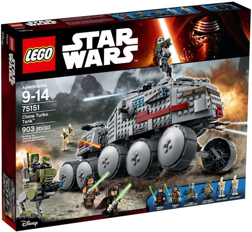 Lego Star Wars Clone Turbo Tank Set #75151