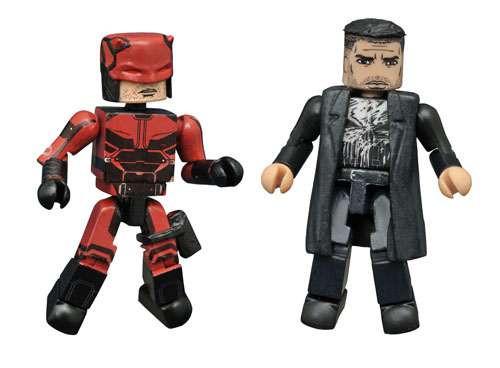 Marvel Daredevil Netflix Minimates Daredevil & The Punish...