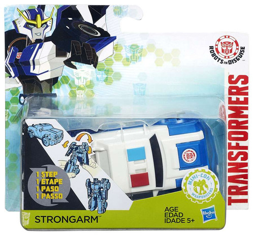 Transformers Robots in Disguise 1 Step Changers Strongarm...