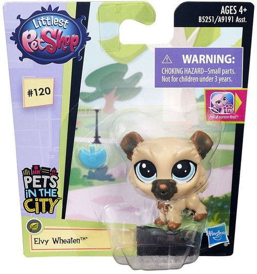 Hasbro Littlest Pet Shop Pets in the City Elvy Wheaton