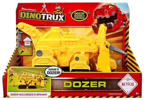 dinotrux dozer deluxe figure with sound mattel toys toywiz