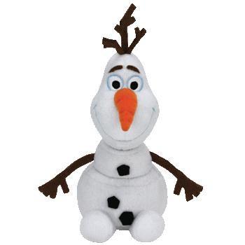 Disney Frozen Beanie Baby Olaf Plush