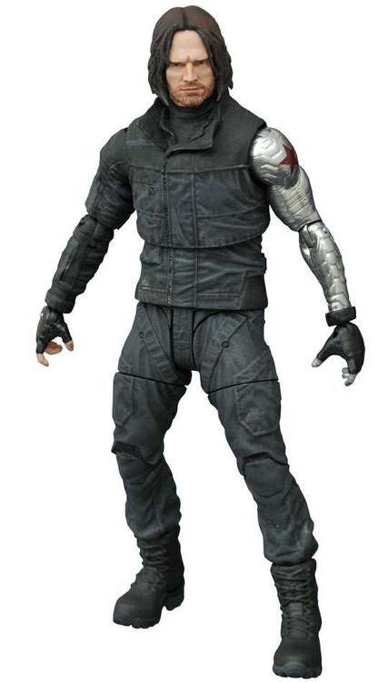 Captain America: Civil War Marvel Select Winter Soldier A...