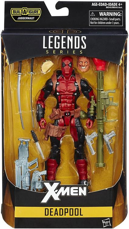 X-Men Marvel Legends Juggernaut Series Deadpool Action Fi...