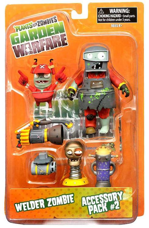 Plants vs zombies garden warfare series 2 welder zombie - Plants vs zombies garden warfare toys ...