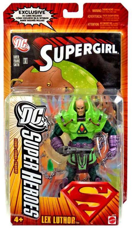 dc superman dc super heroes series 4 lex luthor action figure mattel toys toywiz. Black Bedroom Furniture Sets. Home Design Ideas