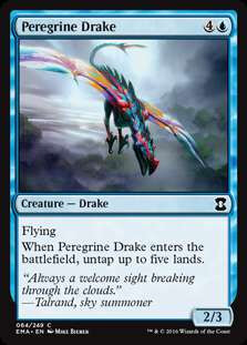 Wizards Of The Coast MtG Eternal Masters Common Peregrine...