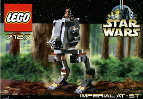 Lego Star Wars Return of the Jedi Imperial AT-ST Set #7127