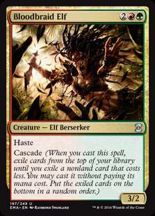 Wizards Of The Coast MtG Eternal Masters Uncommon Bloodbr...