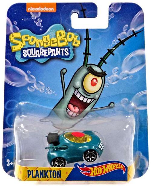 Hot Wheels Spongebob Squarepants Plankton Diecast Charact...