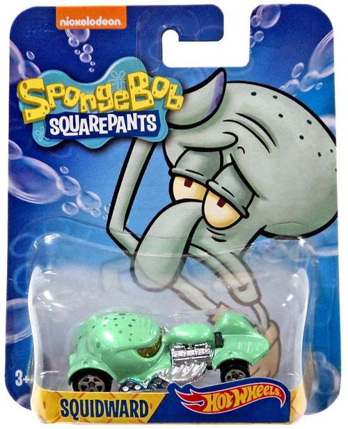 Mattel Hot Wheels Spongebob Squarepants Squidward Diecast...