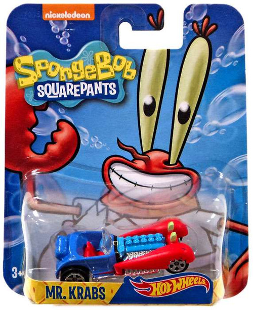 Hot Wheels Spongebob Squarepants Mr. Krabs Diecast Charac...