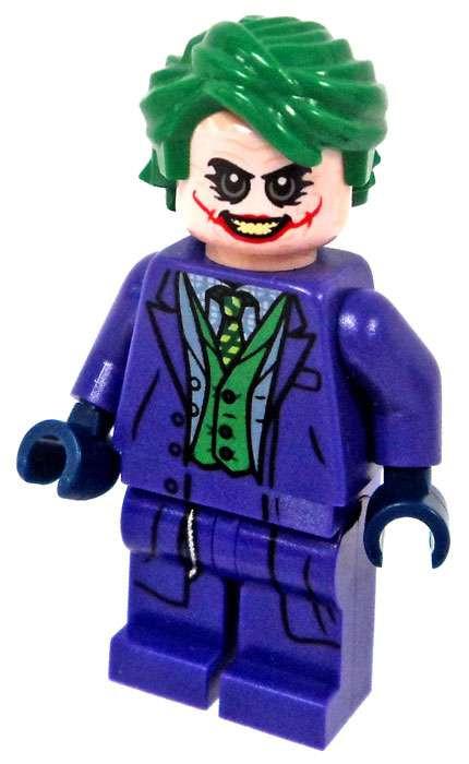 lego dc the dark knight joker minifigure loose   toywiz