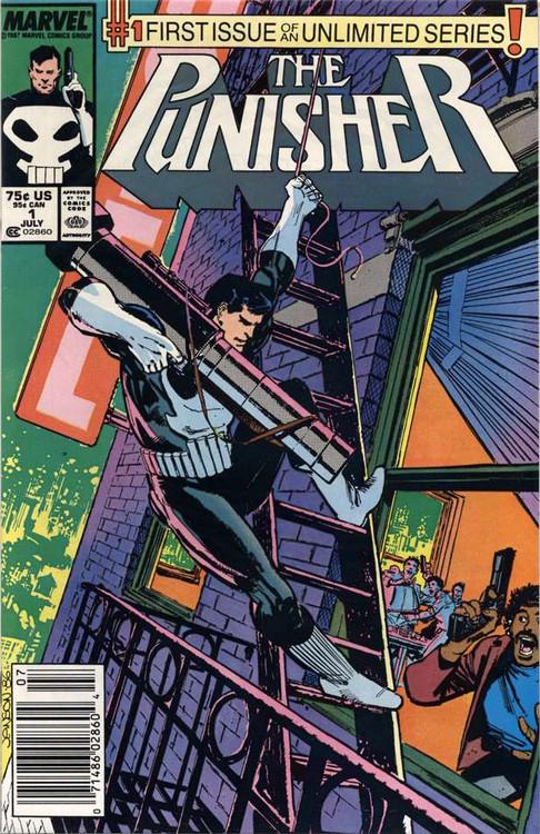 Marvel Punisher Vol 2 #1 Comic Book