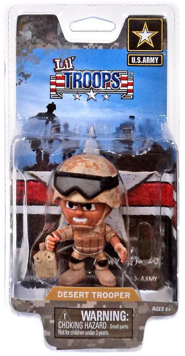 Lil' Troops U.S. Army Desert Trooper Action Figure