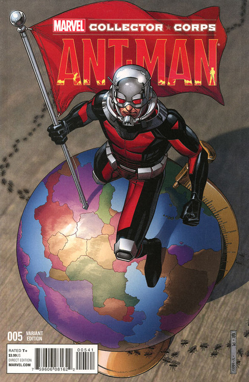 ant-man ant-man exclusive comic book 005 variant edition marvel comics