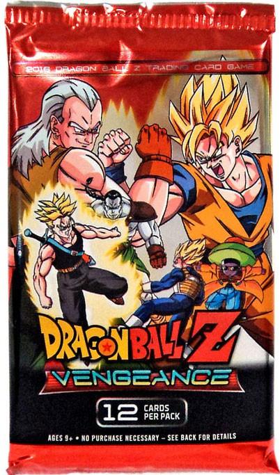PANINI Dragon Ball Z Collectible Card Game Vengeance Boos...