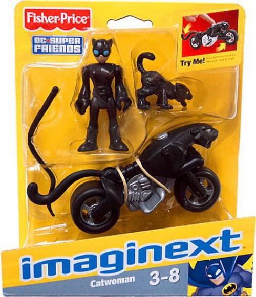 Fisher Price DC Super Friends Batman Imaginext Catwoman F...