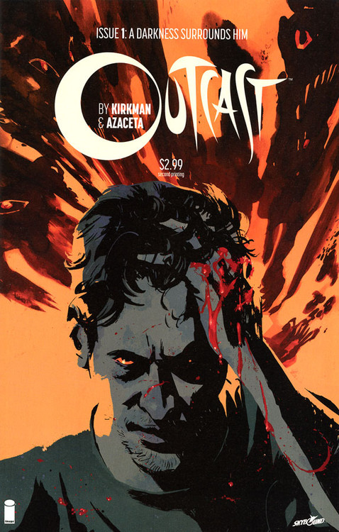 Image Comics Outcast A Darkness Surrounds Him Comic Book #1