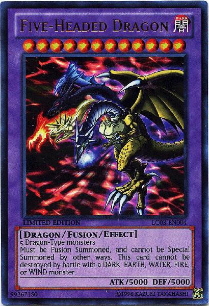 YuGiOh Legendary Collection 3 Ultra Rare Five-Headed Drag...