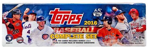 MLB 2016 Topps Baseball Cards Series 1 & 2 Trading Card S...
