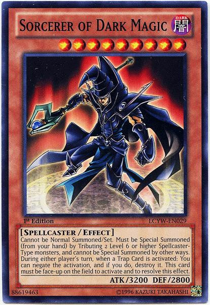 Konami YuGiOh Legendary Collection 3 Common Sorcerer of D...
