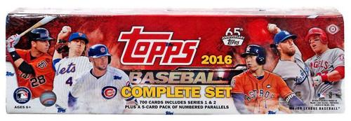 MLB 2016 Topps Baseball Cards Series 1 & Series 2 Trading...