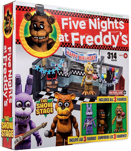 mcfarlane toys five nights at freddys show stage. Black Bedroom Furniture Sets. Home Design Ideas