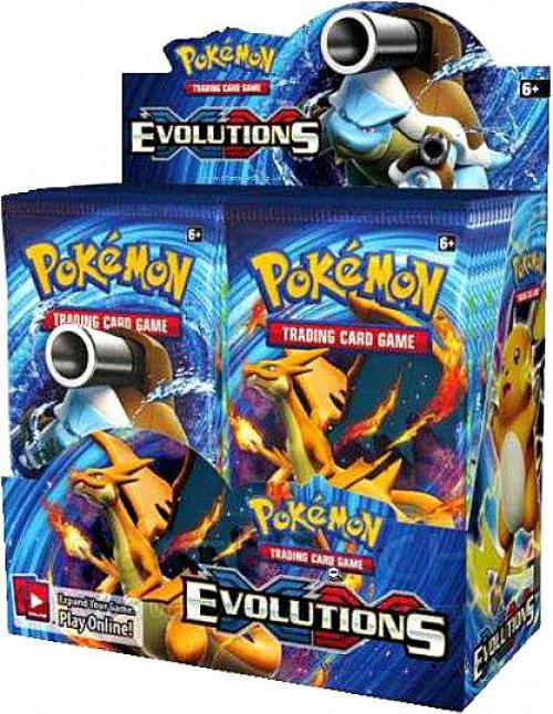 Pokemon XY Evolutions Booster Box [36 Packs]