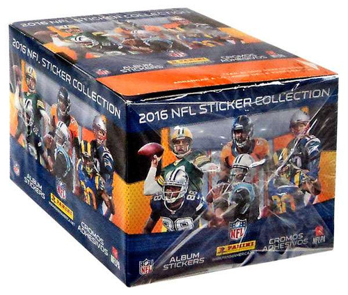 PANINI 2016 NFL Sticker Collection NFL Sticker Collection...