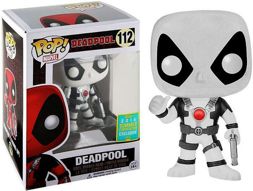 FUNKO INC. POP Marvel Deadpool Exclusive Vinyl Bobble Hea...