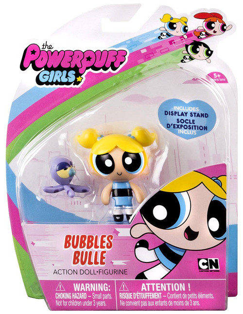 Spin Master The Powerpuff Girls Bubbles Action Figure