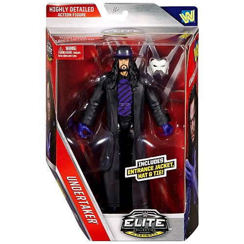 Mattel WWE Wrestling Elite Lost Legends Series Undertaker...