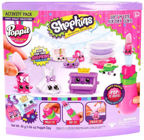 Shopkins Poppit Ballet Collection Activity Pack