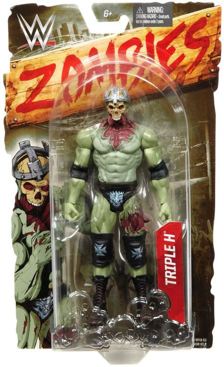 Mattel WWE Wrestling Zombies Triple H Action Figure