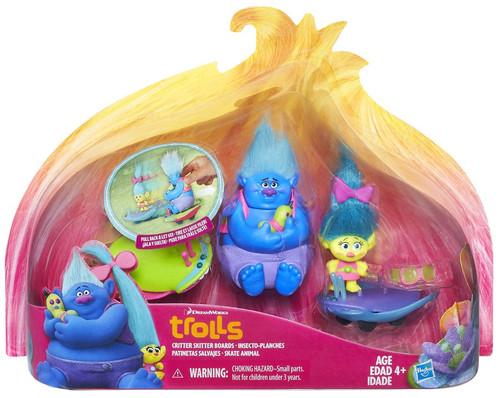 Hasbro Trolls Critter Skitter Boards Figure Set