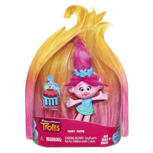 Hasbro Trolls Troll Town Poppy Collectible Figure