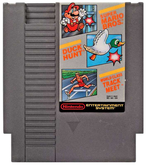 super mario bros duck hunt track meet event